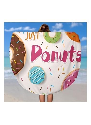 Lyn Home & Decor Just Donuts Çok Amaçlı Örtü Renkli